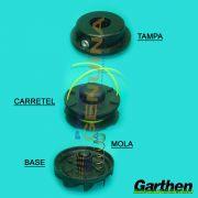 CARRETEL COMPLETO GARTHEN DUAS SAIDAS - MODELO NOVO - 21306.4