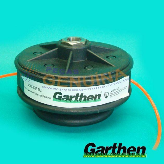 CARRETEL GARTHEN M2 10MM - LINHA A GASOLINA - CG330B/BG430B/BG330B/CG431B/GAM100/GR-200 - 383.3