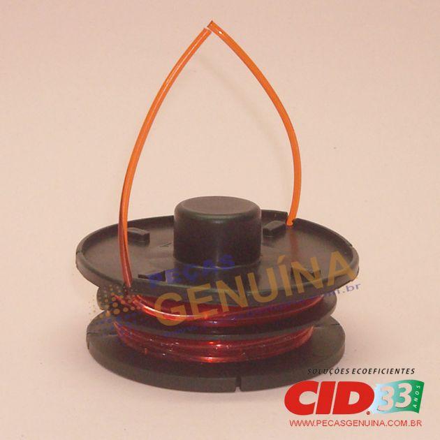 REFIL PARA CARRETEL CID - APARADOR DE GRAMA - COM 2 SAIDAS 1.8MM X 2 M - 7897799580065