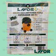 SACO DESCARTÁVEL ASPIRADOR GN 32 / KRONOS 32 / GNP32 LAVOR 32L -  KIT C/3 UN - B6.203.0021